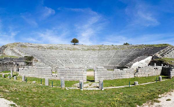 The ancient theater of Dodoni